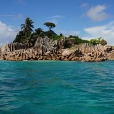 St Pierre vor Praslin - Seychellen